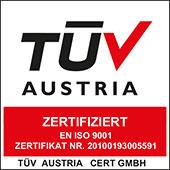 Orthopädie Schmidbauer ist TÜV-Zertifiziert